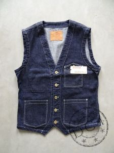 The Flat Head  - Indigo - Denim Vest