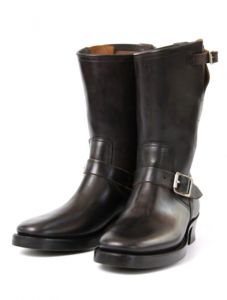 PRE-ORDER - Clinch Boots - Engineer - Horsebutt Black Overdyed