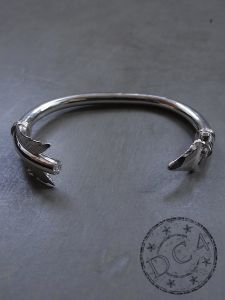 First Arrow`s - Silver Arrow Bangle