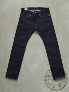 ONI Denim - 707LWZR - Euro Tight Straight - Natural Indigo