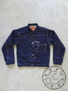 Samurai Jeans - S0555VX - Type I Denim Jacket - 17oz Bushido Selvedge Denim - WW II Model