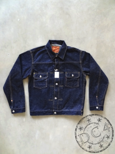 Samurai Jeans - S0552XX - Type II Denim Jacket - 15oz - One Washed