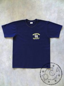 The Flat Head * FRONTIER SPIRIT * Heavyweight T-Shirt - THC Series - Navy