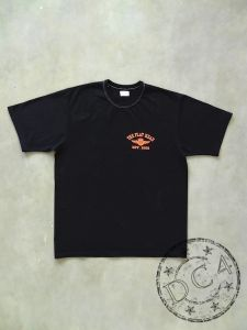 The Flat Head * EST.1996 * Heavyweight T-Shirts - Black