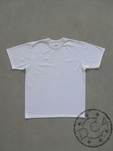 The Flat Head * Plain * Heavyweight T-Shirt - White