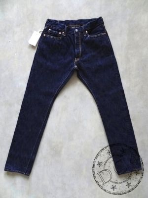 Pure Blue Japan - AI-019 - 17.5oz Natural Indigo - Relaxed Tapered