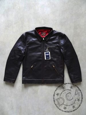 The Flat Head - SRJ-07C - Horsehide - Riders Jacket