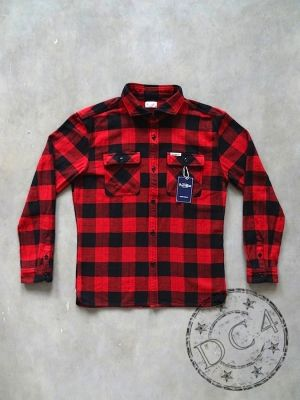The Flat Head - Block Check - Flannel Shirt
