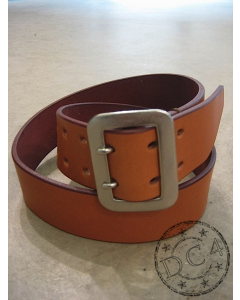 Dry Bones Belt - Dual Prong - Steer Hide Leather