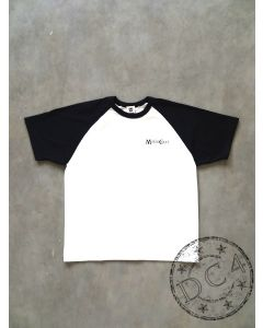 SAMURAI MOTORCYCLE CLUB - RAGLAN T-SHIRT - Black