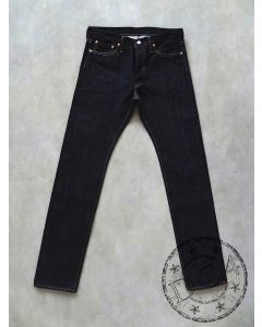 The Flat Head - 8002 - Slim Straight - 18oz Zimbabwe Cotton