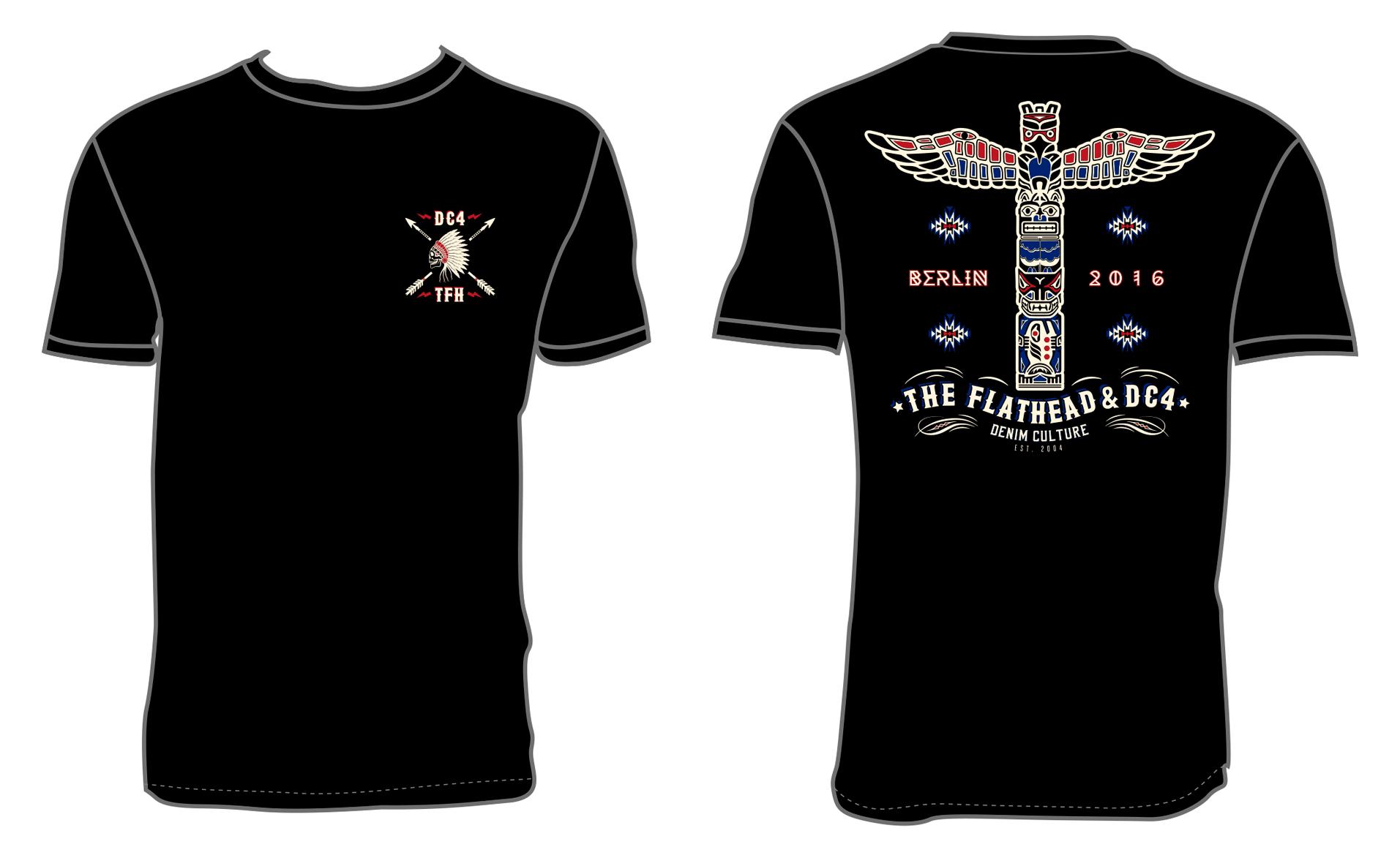 DC4 & THE FLAT HEAD T-Shirt