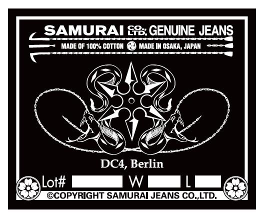 DC4 & SAMURAI JEANS