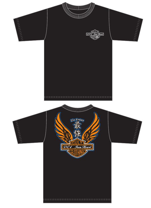 DC4 & IRON HEART Collaboration T-Shirt