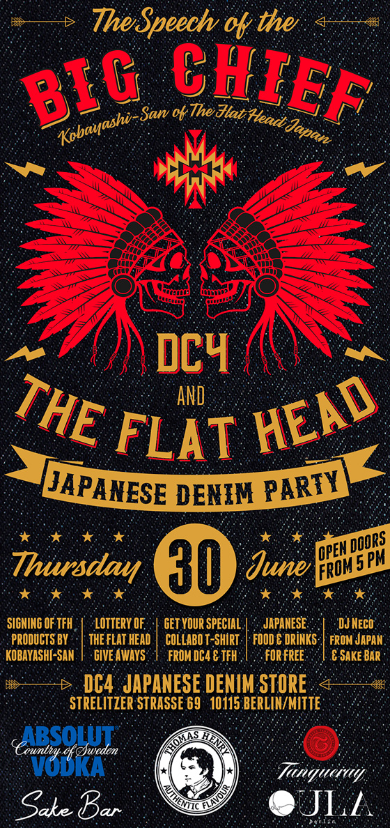 DC4 & THE FLAT HEAD - Party 2016